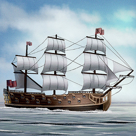 Flying Ship Concept Art